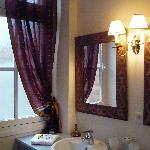 Salle de bain de la chambre Clair-Obscur
