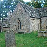 Chillingham church and graveyard
