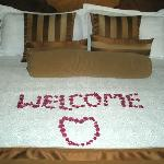 A Nice Welcome Touch