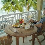 Breakast on the Balcony