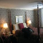 Bartram room (great bed!)