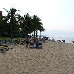 beach towards PV