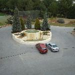 Golfplatzblick laut Hotel