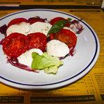 Super fresh caprese salad