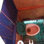 le WC/salle de bain du Klotok