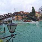 Accademia Bridge from Room 10