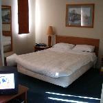 Room sleeping area.