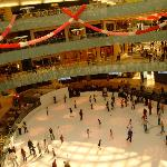 Skate Rink Dallas Galleria