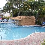Out door heated pool