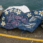 Painted Rocks on the Breakwater