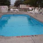 The Pool at Motel 6 Marion.