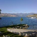 Lake Chelan from the room balcony