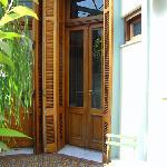 Door to loft
