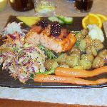 Wild Salmon Dinner at Wild Ginger