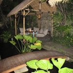Some of the gorgeous cabanas to sit in and enjoy your meal...LOVE IT!!!