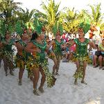 Dancers in Isla Mujeres