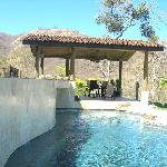 The lower pool and ranchero