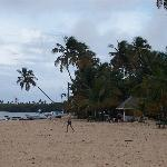 Pigeon Point beach in Tobago