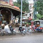 Honest Tuk Tuk's nearby and great cafe on the corner to eat
