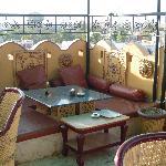 Upper floor of the bar/restaurant