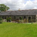 Safe, enclosed garden of Stable Cottage