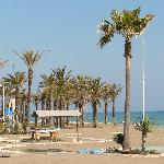 The beach at La Carihuela