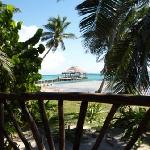 Akbol beachfront cabana with palapa