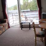 lounge area to balcony