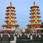 Dragon and Tiger Pagodas, Zuoying, Kaohsiung