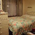 Bedroom - not what was advertised on website!