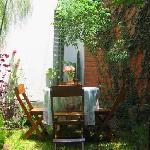 Private  inner garden (patio)