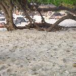petite vue de la plage