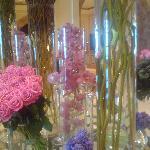 Tasteful floral arrangements