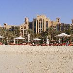 The Min A Salam as seen from the private beach