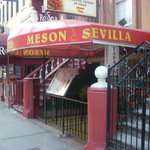 A Closeup view of Meson Sevilla