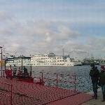 The Botel, taken from the ferry pier.