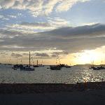 Sunset Over Amador Causeway