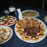 Post Inauguration Snack at Santa Maria Volcano Lodge