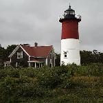 Nauset Lighthouse has been moved 300 feet inland.