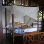 Romantic bed in La Vainilla