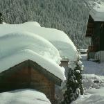 Chalet is on left, trully fantastic