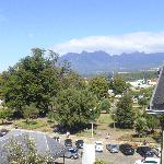 View Of the Noisy Square From Our Room at the Gran Hotel Pucon