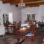 Main dinning area
