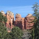 nearby Red Rocks in Sedona