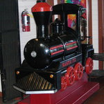 The Kid Friendly Locomotive for the Children to ride