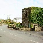 Old Castle - next to driveway entrance