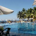 Extérieur vue de la piscine