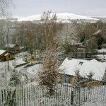 Loch insh in the snow