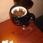 Broken & NOT Cleaned Coffee Pot