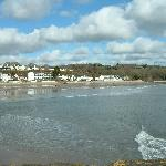 Saundersfoot view from harbour wall